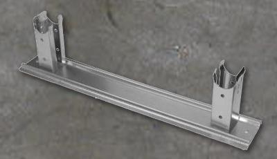Podstawka rur grzewczych KLEM model